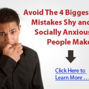 overcome shyness anxiety